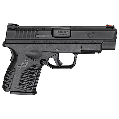 "Springfield Armory XD-S 9MM 4"" BLACK XDS9409BE"