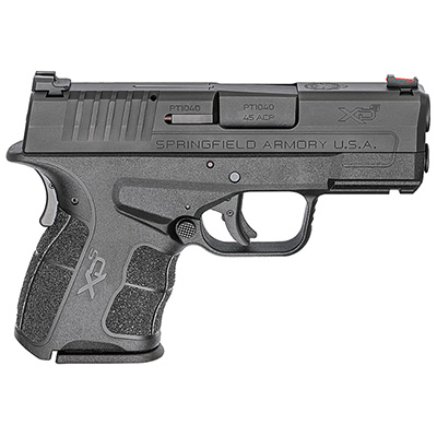 "Springfield Armory XDS .45 ACP MOD.2 3.3"" Black Fiber Optic Sight w/ 2 Magazines XDSG93345B"