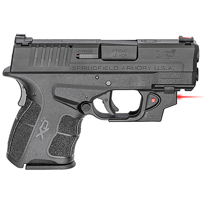 "Springfield Armory XDS .45 ACP MOD.2 3.3"" Black Red Viridian Laser w/ 2 Magazines XDSG93345BVR"