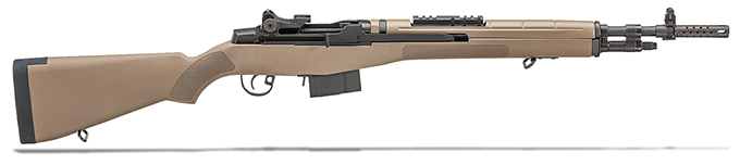 "Springfield M1A 18"" FDE COMPOSITE STOCK, CARBON BBL AA9120"