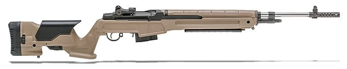 Springfield Armory M1A 6.5 Creedmoor FDE Composite Stock NM Stainless Steel Barrel MP9820C65