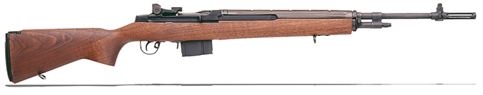 "Springfield M1A 22"" OVERSIZE WALNUT CARBON BL SA9102"