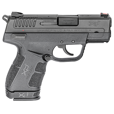 "Springfield Armory XDE .45 3.3"" Black Pistol XDE93345BE"