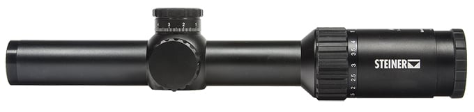 Steiner M6Xi 1-6x24mm Rapid Dot 5.56 CCW Military Riflescope 8708-556