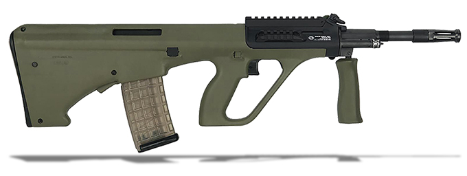 "Steyr AUG A3 M1 5.56/223 Rem 16"" Green Stock NATO Semi-Auto Short Rail Rifle AUGM1GRNNATOS"