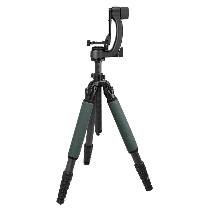 Swarovski PCT Professional Carbon Tripod with PTH Professional Tripod Head 49020
