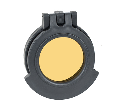 Tenebraex  Amber cover with Adapter Ring 50mm Objective - Fits NF, Bushnell Tactical, IOR 4-14/6-24 50NFCC-ACR 50NFCC-ACR