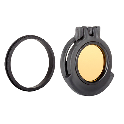 Tenebraex Objective Amber See-Through w/ Adapter Ring for Zeiss Conquest 3.5-10x50 52FC01-ZCF01-ZC5000-ACR