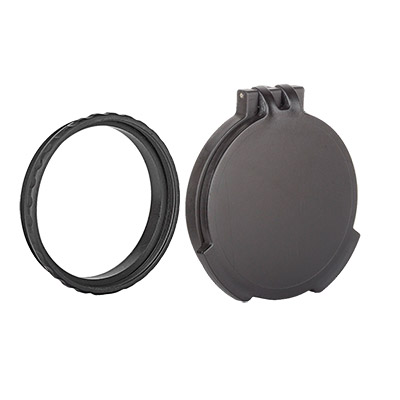 Tenebraex Objective Flip Cover w/ Adapter Ring for Kahles K624 6-24x56 CZV560-FCR