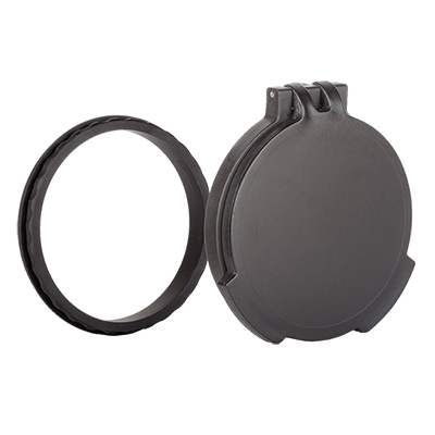 Tenebraex Objective Flip Cover w/ Adapter Ring Black for Vortex Razor HD Gen II 4.5-27x56 VR0056-FCR