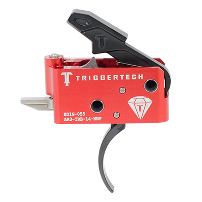 TriggerTech AR15 Diamond Pro Blk/Red Two Stage Trigger AR0-TRB-14-NNP