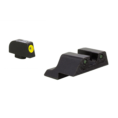 Trijicon HD XR Night Sight Yellow Front Glock Models