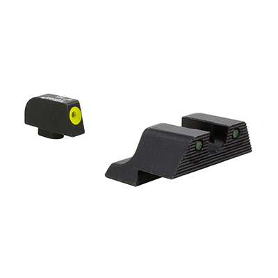 Trijicon HD XR Night Sight Yellow Glock Models 42 & 43