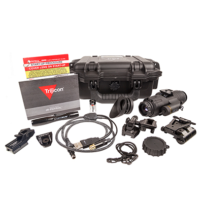 Trijicon IR PATROL M300W 19mm BLACK TACTICAL KIT IRMO-300TK