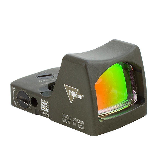 Trijicon 3.25 Red RMR Type 2 - CK ODG RM01-C-700623