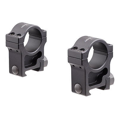 Trijicon 1 inch Extra High Aluminum Rings TR101