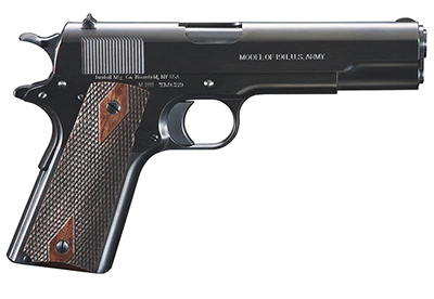 Turnbull 1911 First type WW1 Stamped (Army) Goverment .45 w/ double diamond wood grips TB-P1-G-A