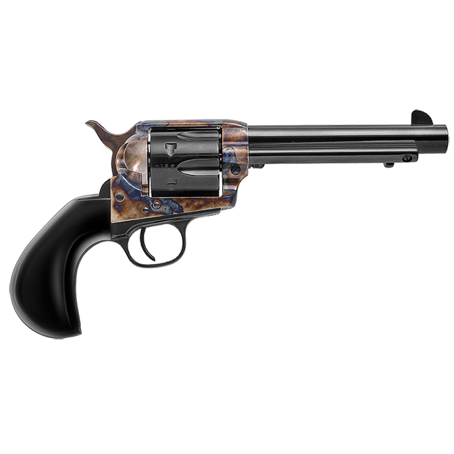 "Uberti Outlaws & Lawmen ""Bonney"" .45 Colt 5.5"" 1873 Single Action Cattleman NM Blued C/H, Bison Grip Revolver 356716"