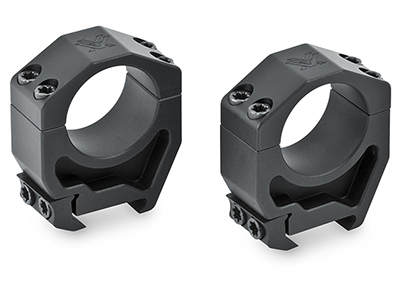 Vortex Precision Matched Rings (Set of 2) for 30mm (1.45 Inch /36.8 mm).  PMR-30-145.  Available Spring 2016 PMR-30-145