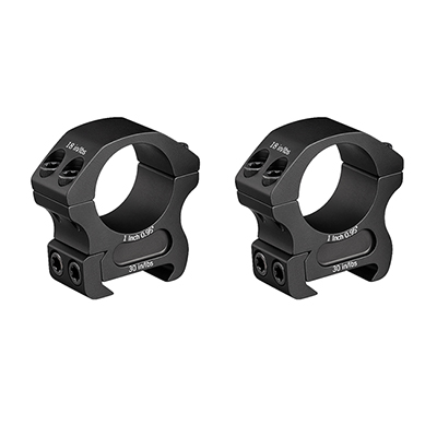 "Vortex Pro 1"" Medium (0.95"") Scope Rings PR1-M"