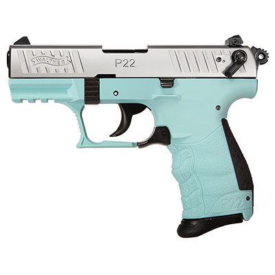 Walther P22 .22 LR  Angel Blue Pistol 5120360