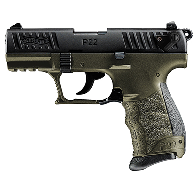 Walther P22QD .22 L.R. Military 10 round