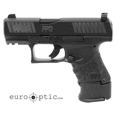 Walther PPQ M2 SC 9mm Black 10/15 round Pistol w/ 2 Mags and XS F8 Night Sights 2815249TNS