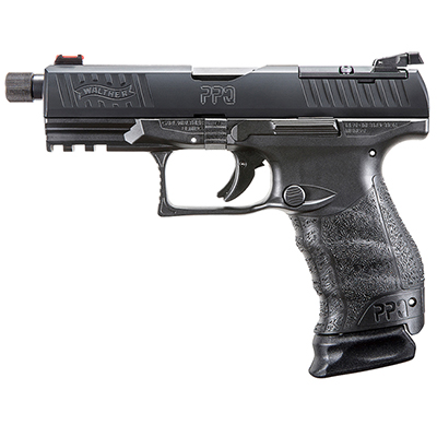 Walther PPQ M2 Q4 TAC 9mm Pistol with Threaded Barrel and 3 Mags 2825929