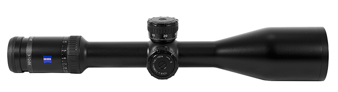 Zeiss Victory HT 3-12x56 Reticle 60 with ASV Elevation + Wind 522435-9960-020 522435-9960-020