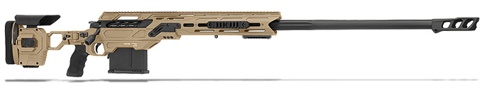 "Cadex Defense R7 Shepherd Evo M-LOK, 338 Lapua, 27"" Hybrid Tan/Black Rifle CDXR7-SHPD-338-27-HTB-FT"