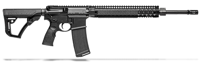 "Daniel Defense MK12 SPR 5.56mm NATO 18"" Black 1:7 Rifle 02-142-13175-047"