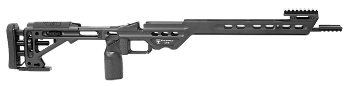 Masterpiece Arms Remington Short Action Right Hand Black Competition Chassis