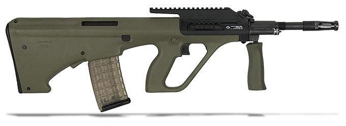"Steyr AUG A3 M1 5.56/223 Rem 16"" Green Stock NATO Semi-Auto Extended Rail Rifle AUGM1GRNNATOL2"