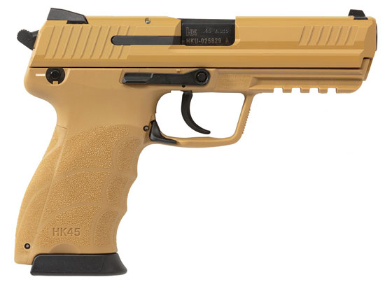 HK45 .45 ACP Tan Pistol 745001BB-A5