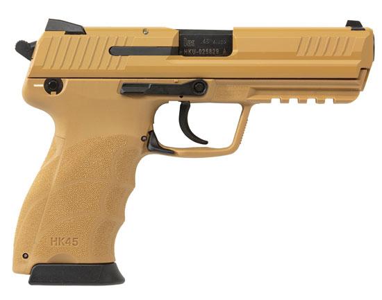HK45 .45 ACP Tan Pistol 745007BBLE-A5