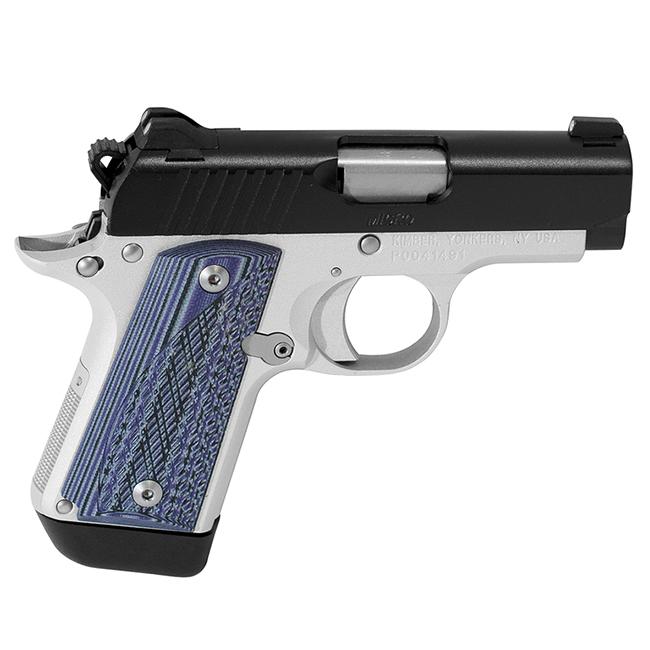 Kimber Micro Carry Advocate purple/black grips .380 ACP 3300086