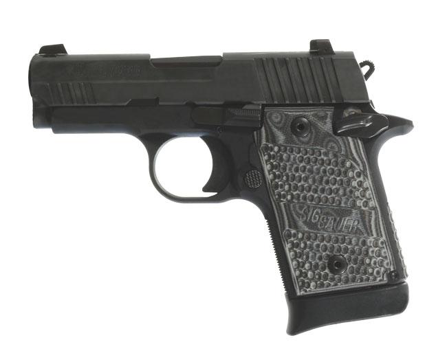 Sig Sauer Extreme 9mm Pistol 938-9-XTM-BLKGRY-AMBI