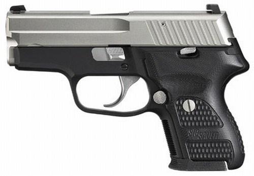 Sig P224 Nickel .40 S&W Pistol 224-40-NSS-DAK