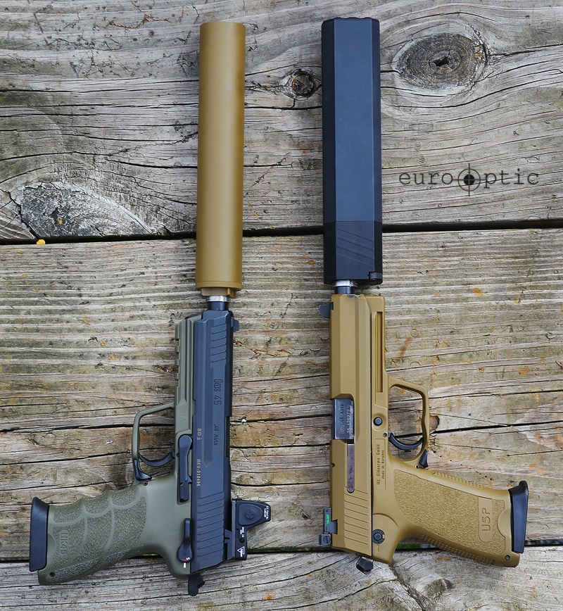 Suppressed Handguns