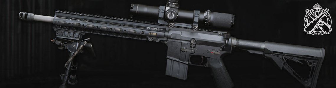 Badger Ordnance Accessory Mounts, Rails, and Rings