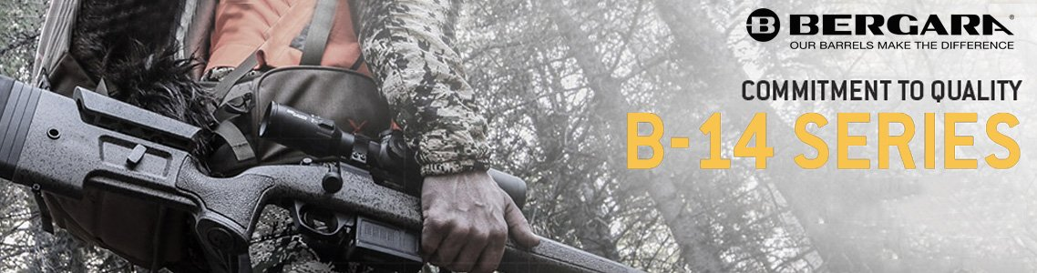 View All Bergara B-14 Series Rifles