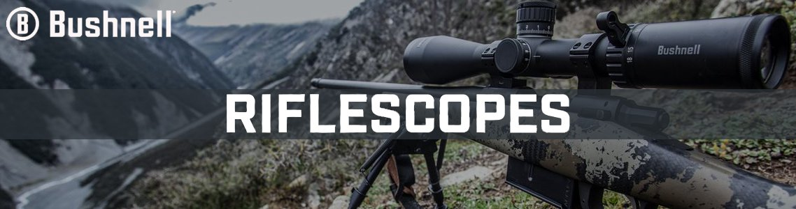 View All Bushnell Riflescopes
