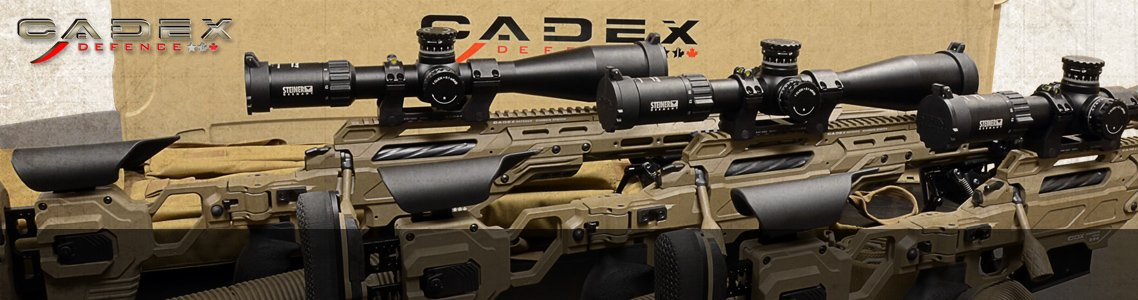 Cadex Defense Accessories