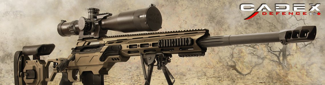 View All Cadex Defense Rifles