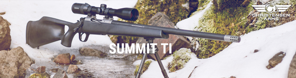Summit Titanium Thumbhole Rifles