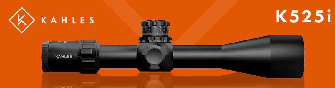 Kahles K525i 5-25x Illuminated Riflescopes