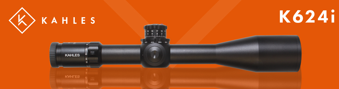 Kahles K624i 6-24x Illuminated Riflescopes