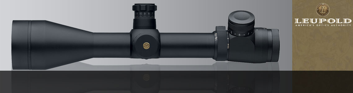 Leupold Mark 4 LR/T 4.5-14x50 Riflescopes