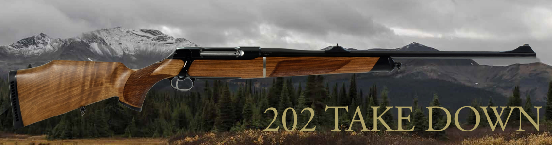 Sauer 202 Take Down Rifles