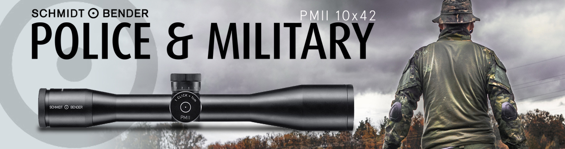 PM II 10x42 Riflescopes